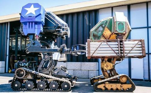 人が乗れる巨大ロボットの画像(7枚目)