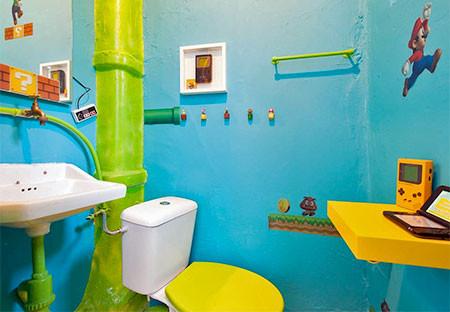 部屋一面スーパーマリオの画像(4枚目)