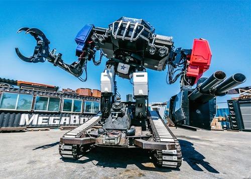 人が乗れる巨大ロボットの画像(5枚目)