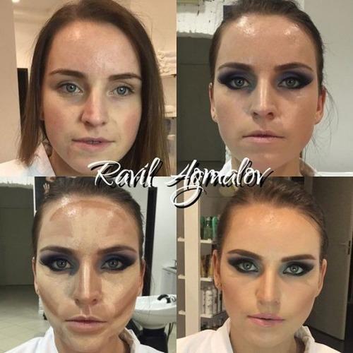 女性の化粧前、化粧後の画像の数々_22