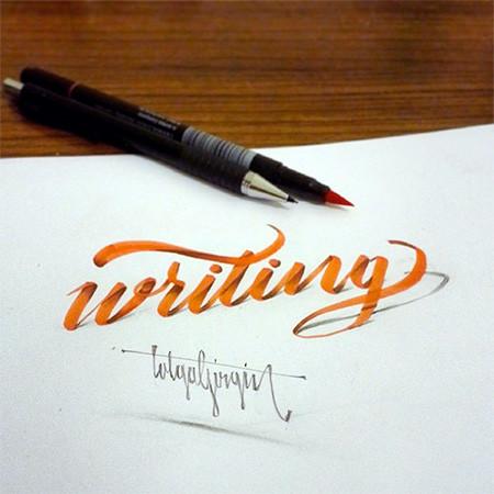 ノートにペンだけで描いた3Dの文字が凄い!!の画像(3枚目)