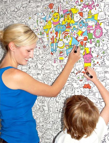 塗り絵の壁紙04