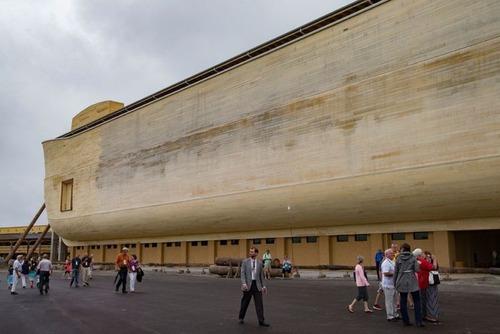 実物大の『ノアの箱舟』の画像(13枚目)