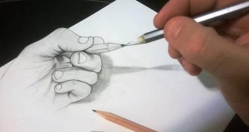紙で作った3Dアートの画像(7枚目)