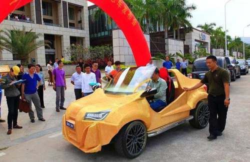 中国の3Dプリンタで作られた自動車がなんだかヤバイ!の画像(4枚目)