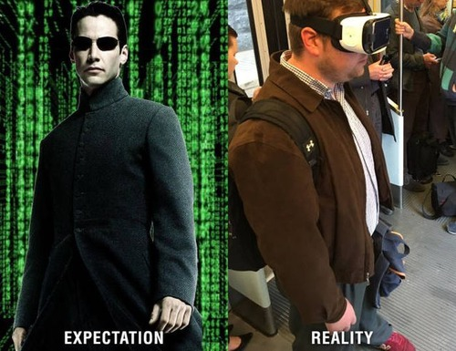 理想と現実!ネット上と現実世界のお前ら的な比較画像の数々!!の画像(1枚目)