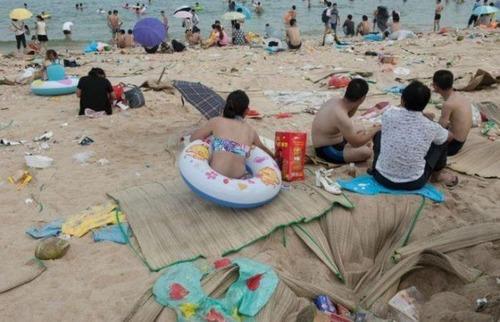 中国の海水浴場の画像(11枚目)