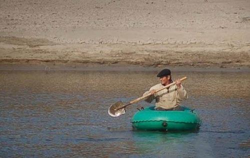 カオスなところで釣りをしている人達の画像(28枚目)