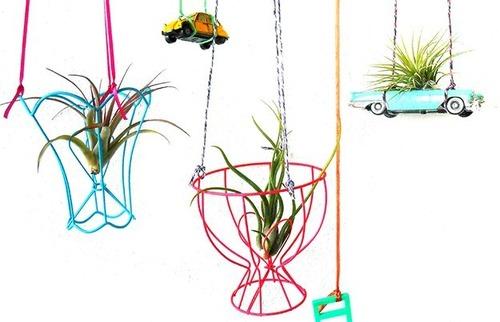 【画像】狭くても大丈夫!小さな植木が綺麗に飾れる工夫の数々!の画像(5枚目)