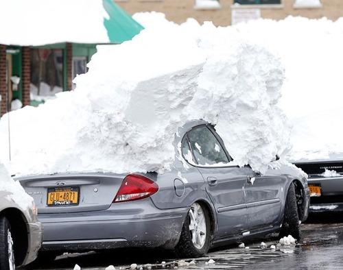 【画像】大雪のニューヨークで日常生活が大変な事になっている様子!の画像(33枚目)