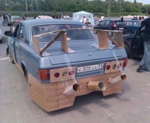 ダメなカスタムをしている自動車の画像(46枚目)