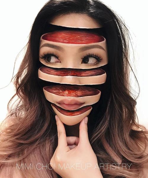 美人なのに怖すぎるフェイスペイントの画像(11枚目)