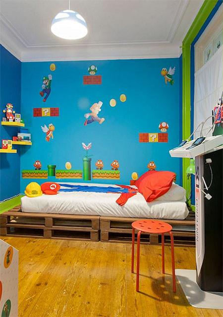 部屋一面スーパーマリオの画像(11枚目)