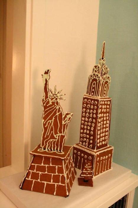 【画像】お菓子でできた家やジオラマが凄い!!の画像(8枚目)