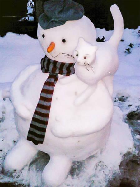面白い雪だるまの画像(38枚目)