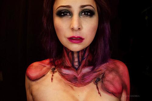 女性のメイクが怖すぎる!化粧のみで怖すぎる女性のメイクの画像の数々!!の画像(19枚目)