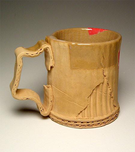 ダンボール製のようなマグカップの画像(5枚目)
