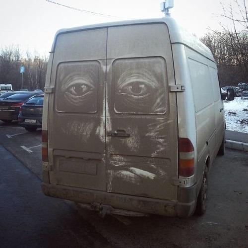汚れた自動車のペイントの画像(7枚目)