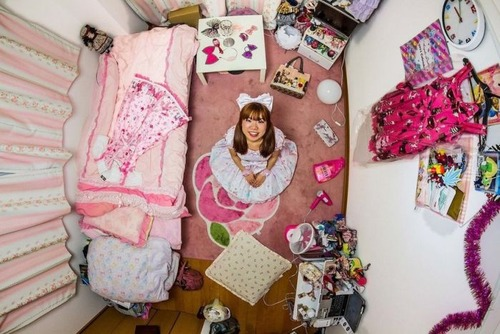 世界各国の人達のベッドルームの画像(10枚目)