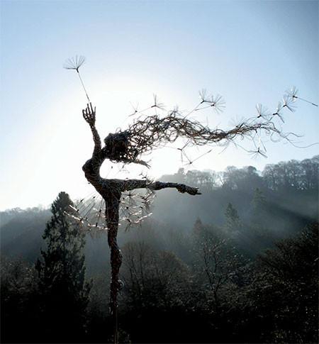 【画像】生きてるみたい!針金で再現された妖精が凄い!!の画像(6枚目)