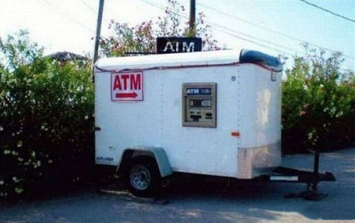 ヤバイ銀行のATMの画像(14枚目)