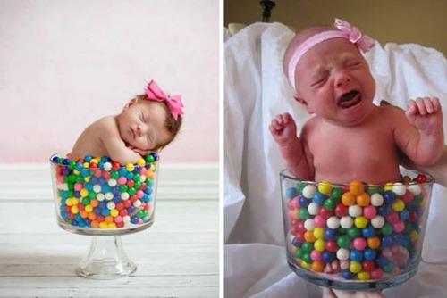 赤ちゃんとの記念撮影の理想と現実の画像(21枚目)