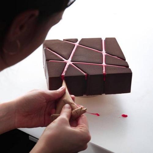 美しすぎて食欲が沸かないお菓子の画像(1枚目)
