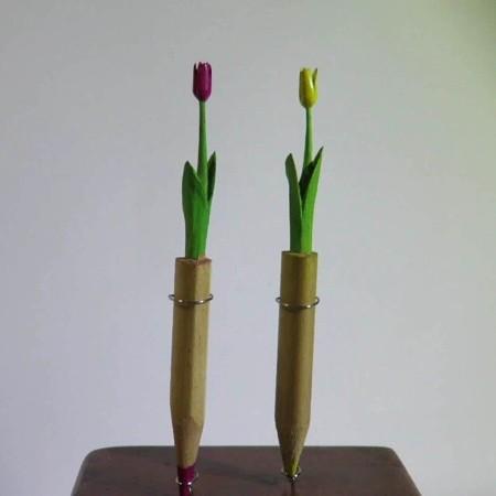 鉛筆の芯の彫刻13