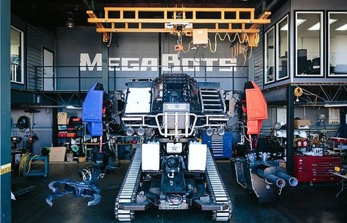人が乗れる巨大ロボットの画像(4枚目)