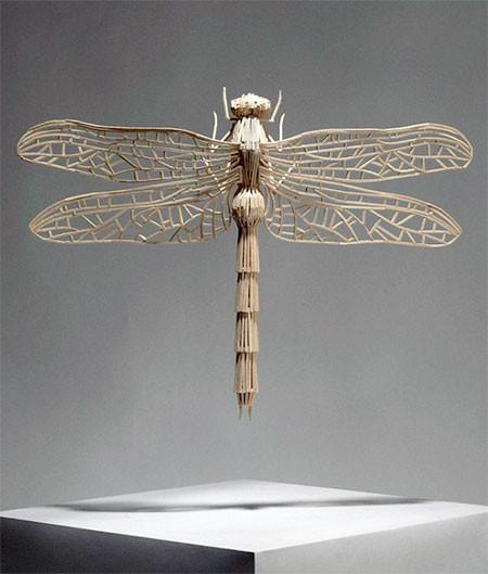 【画像】マッチ棒で作った昆虫のクオリティが凄い!!の画像(6枚目)