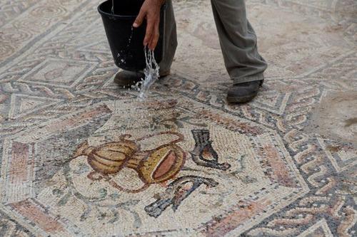 イスラエルで発掘された1700年前の信じられない遺跡の画像(4枚目)