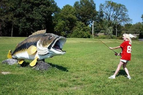 カオスなところで釣りをしている人達の画像(38枚目)