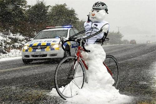 面白い雪だるまの画像(24枚目)