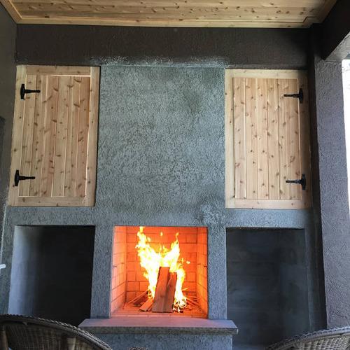 ロマンを感じる!自宅に追加で作った暖炉が凄い!!の画像(12枚目)