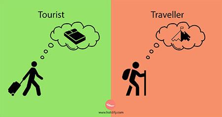 「観光客」vs「旅行者」の比較画像が分りやすい!!の画像(7枚目)