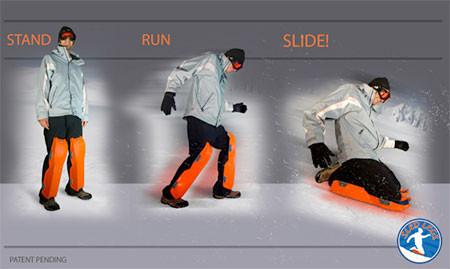 走って!跳んで!滑れる!新感覚のソリ「SLED LEGS」が楽しそうwwwの画像(2枚目)