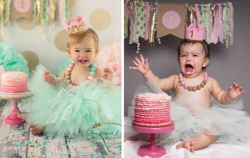 赤ちゃんとの記念撮影の理想と現実の画像(8枚目)