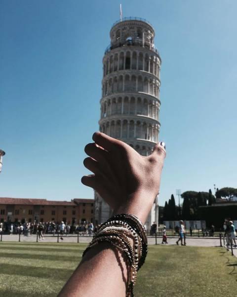 ピサの斜塔の記念撮影の画像(22枚目)