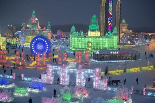 中国の雪祭りの画像(6枚目)