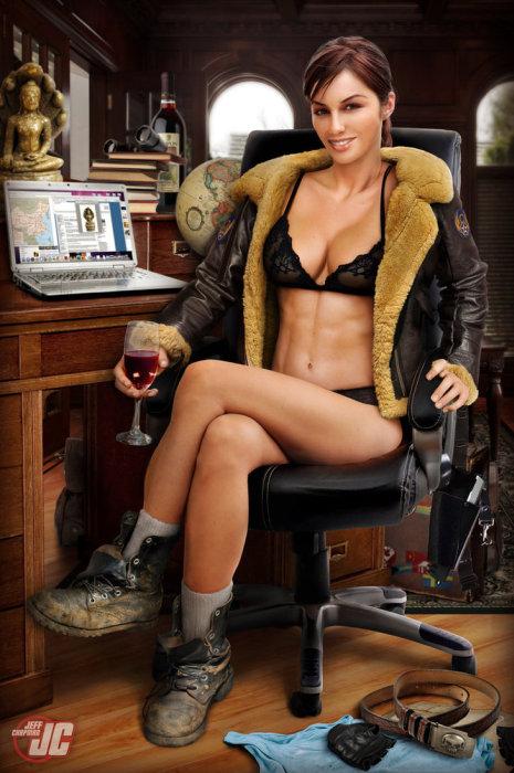 セクシーな女性のポスターの作成方法がよく分かる画像!の画像(19枚目)