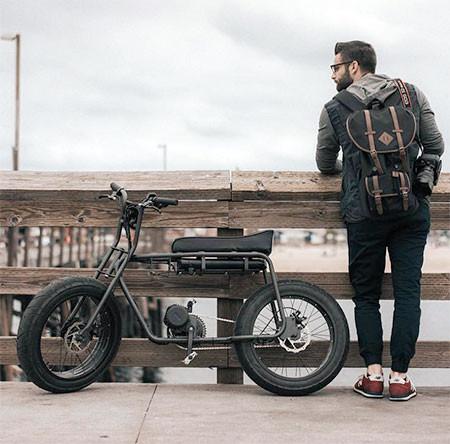 【画像】気分はアウトロー!バイクのように乗れる電動自転車!!の画像(18枚目)
