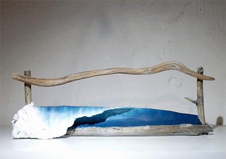 波付き流木14