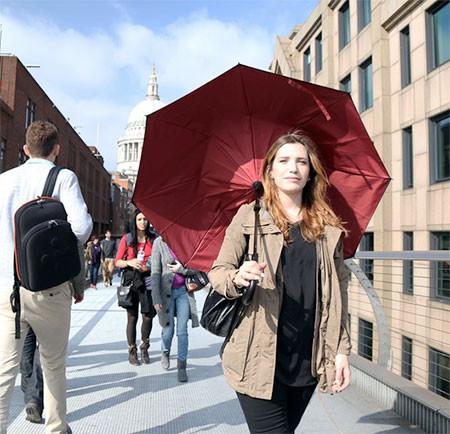 裏表が逆に折りたためる傘の画像(3枚目)