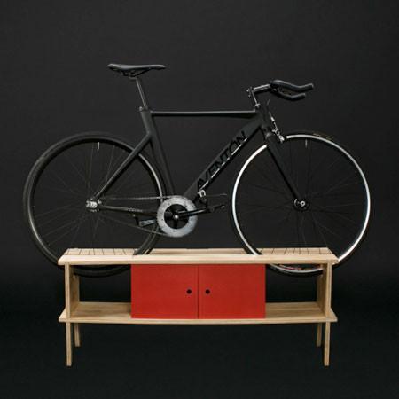ちょっとした工夫で自転車の収納がカッコよくなる!の画像(7枚目)