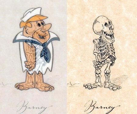 アニメや漫画のキャラクターの骨格のイメージ画像が凄いwwwの画像(14枚目)