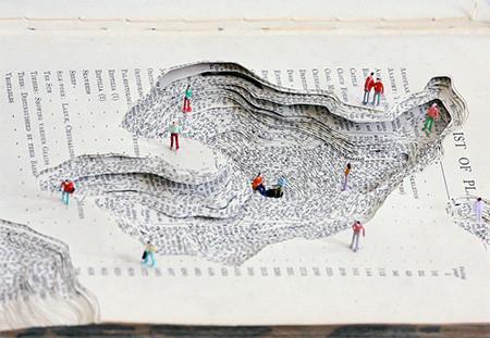 本の洞窟に暮らす人たちのミニチュア05