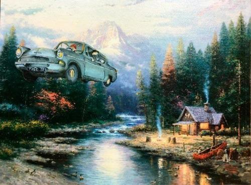 【画像】絵画の世界にSF映画やゲームのキャラが登場したら!の画像(11枚目)