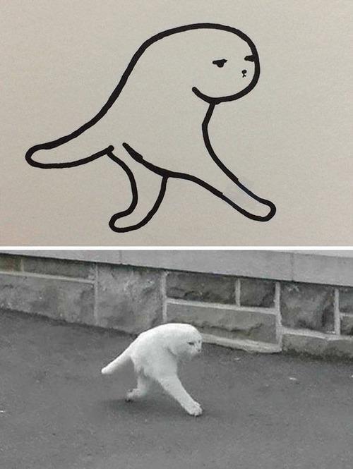 猫のイラストの画像(6枚目)