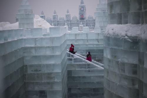 中国の雪祭りの画像(5枚目)