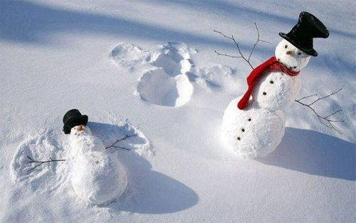 面白い雪だるまの画像(47枚目)